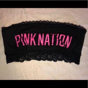 NWOT Pink Bandeau